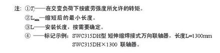 SWC-WD型万向联轴器